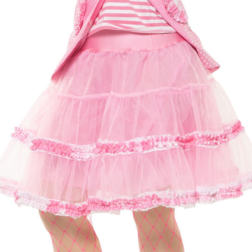 Petticoat Patchwork, candy pink