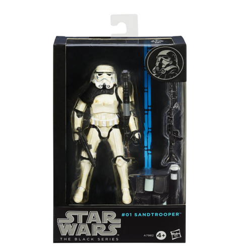 SANDTROOPER (BLACK POULDRON) #01 (BLUE)