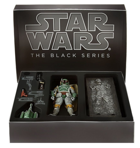 BOBA FETT & HAN SOLO IN CARBONITE SDCC 2013 EXCLUSIVE