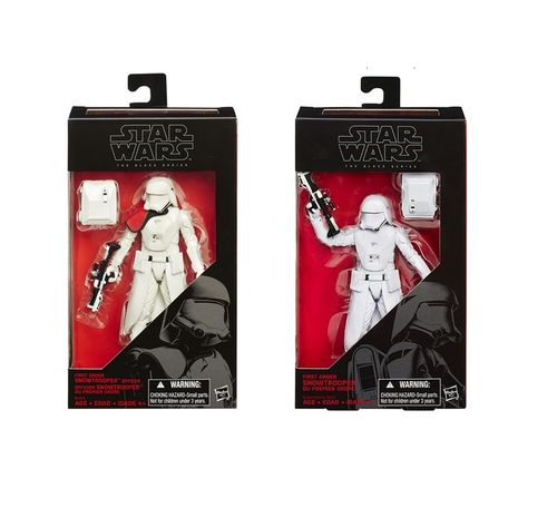 FIRST ORDER SNOWTROOPER OFFICER & FIRST ORDER SNOWTROOPER / 2-PACK