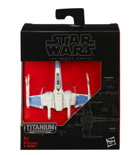 BLACK SERIES TITANIUM RESISTANCE X-WING FIGHTER