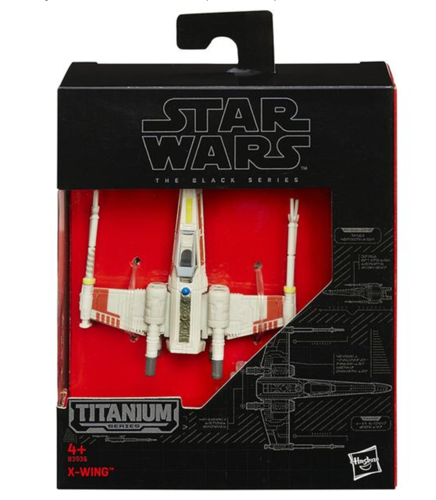 BLACK SERIES TITANIUM X-WING FIGHTER (EPISODE IV)
