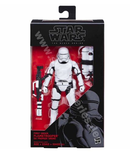 FIRST ORDER FLAMETROOPER #16 (RED)