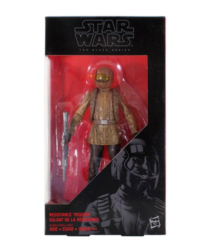 RESISTANCE TROOPER #10 (RED) BROWN HELMET