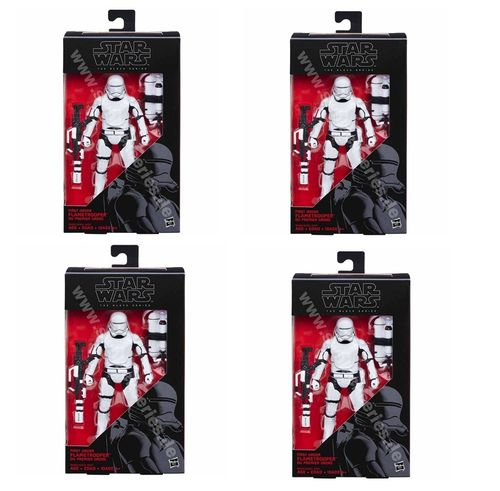BLACK SERIES FIRST ORDER FLAMETROOPER / 4-PACK ( 24,99 € PRO FIGUR )