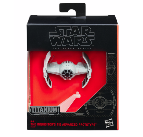 BLACK SERIES TITANIUM THE INQISITOR'S TIE ADVANCED