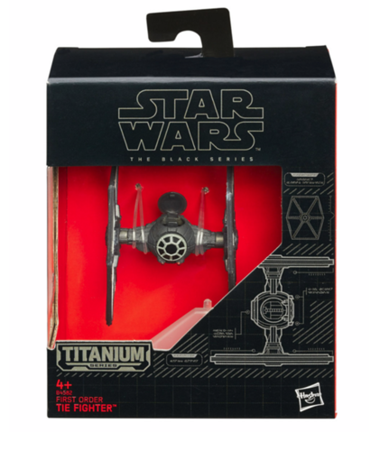 BLACK SERIES TITANIUM FIRST ORDER TIE FIGHTER