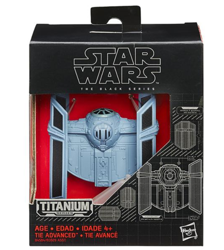 BLACK SERIES TITANIUM TIE ADVANCED X1