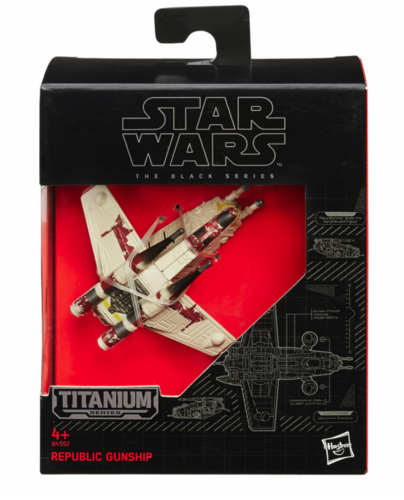 BLACK SERIES TITANIUM REPUBLIC GUNSHIP