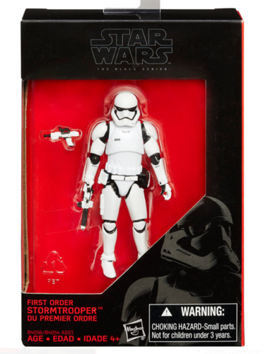 FIRST ORDER STORMTROOPER 3,75""