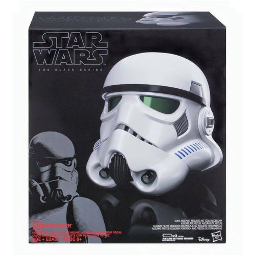 IMPERIAL STORMTROOPER ELECTRIC VOICE-CHANGER HELMET 1:1