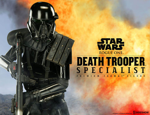 SIDESHOW DEATH TROOPER SPECIALIST / ROGUE ONE / PREMIUM FORMAT (53 CM)
