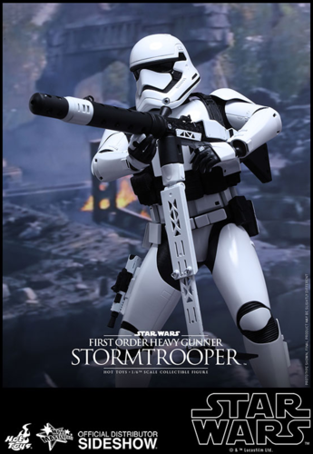 HOT TOYS STAR WARS FIRST ORDER HEAVY GUNNER STORMTROOPER 1:6 SCALE