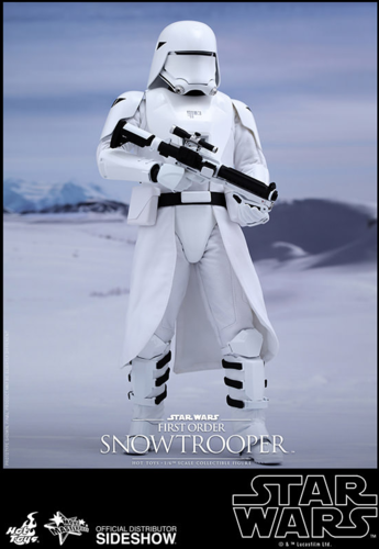 HOT TOYS STAR WARS FIRST ORDER SNOWTROOPER 1:6 SCALE