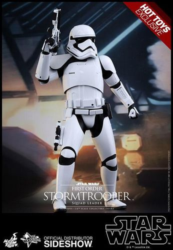 HOT TOYS STAR WARS FIRST ORDER STORMTROOPER SQUAD LEADER 1:6 SCALE