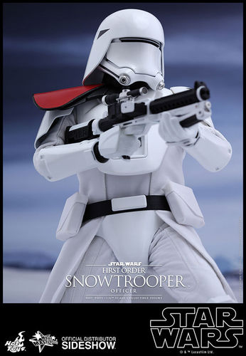 HOT TOYS STAR WARS FIRST ORDER SNOWTROOPER OFFICER 1:6 SCALE