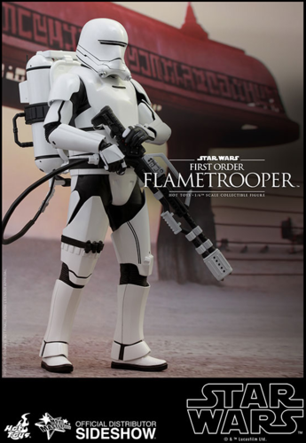 HOT TOYS STAR WARS FIRST ORDER FLAMETROOPER 1:6 SCALE