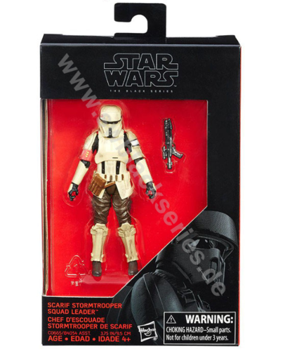 ROGUE ONE SCARIF STORMTROOPER SQUAD LEADER 3,75""