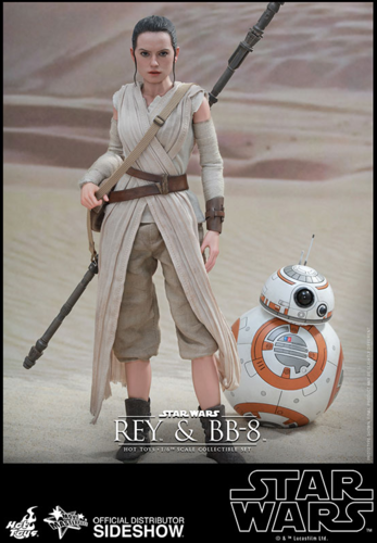 HOT TOY STAR WARS REY + BB-8 1:6 SCALE