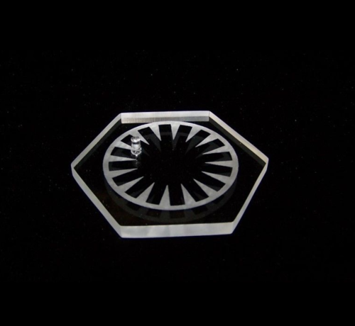 "BLACK SERIES DISPLAY STAND FIRST ORDER 6"" (5 STÜCK)"