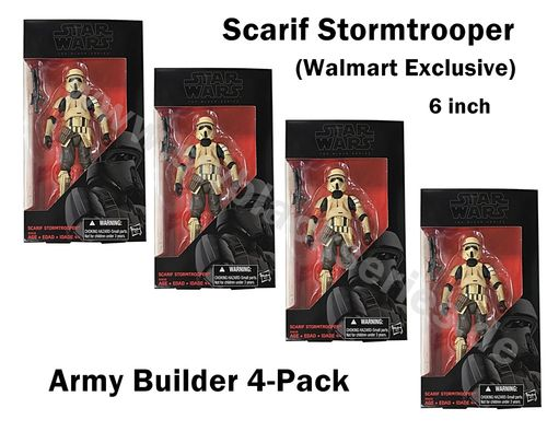 ARMY BUILDER 4-PACK: SCARIF STORMTROOPER (WALMART EXCLUSIVE) / AUSVERKAUFT