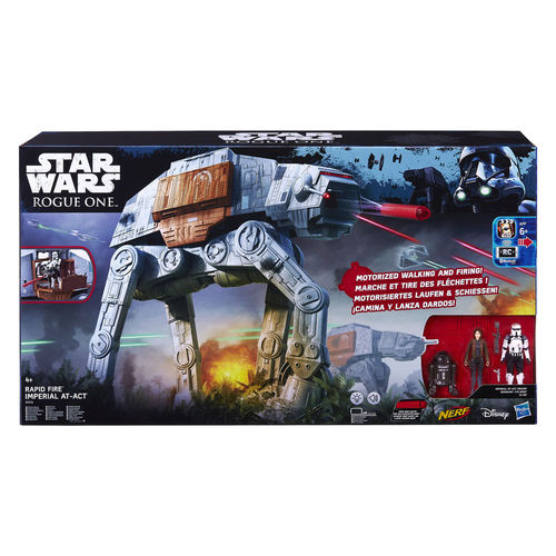STAR WARS ROGUE ONE IMPERIAL AT-ACT / RAPID FIRE / ELEKTRONISCH