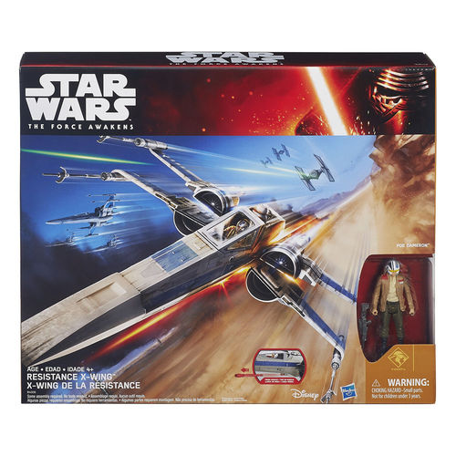 STAR WARS RESISTANCE X-WING FIGHTER / TFA