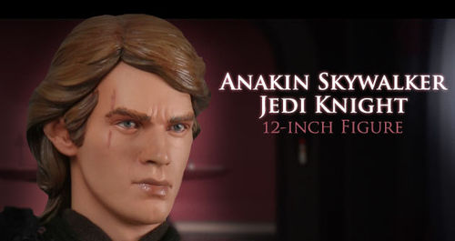 SIDESHOW ANAKIN SKYWALKER / ORDER OF THE JEDI / SIXTH INCH