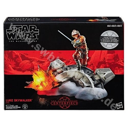 BLACK SERIES TITANIUM CENTERPIECE LUKE SKYWALKER (ESB) 6 INCH