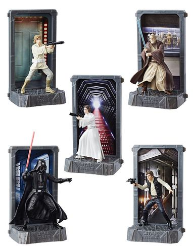 "BLACK SERIES TITANIUM WAVE 1 DIE-CAST 3,75"" / COMPLETE WAVE (5 FIGUREN)"