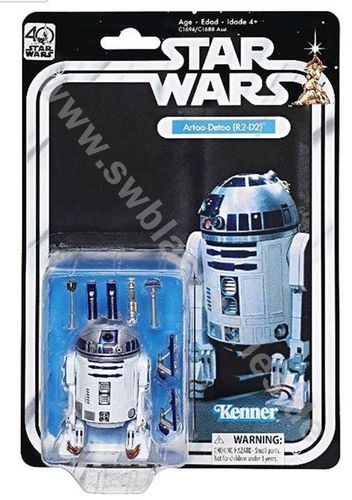 BLACK SERIES 40th ANNIVERSARY R2-D2 6""