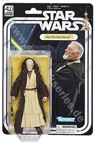 BLACK SERIES 40th ANNIVERSARY OBI-WAN KENOBI 6""