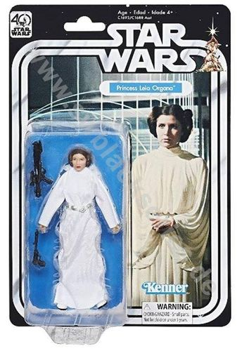 BLACK SERIES 40th ANNIVERSARY PRINCESS LEIA 6""