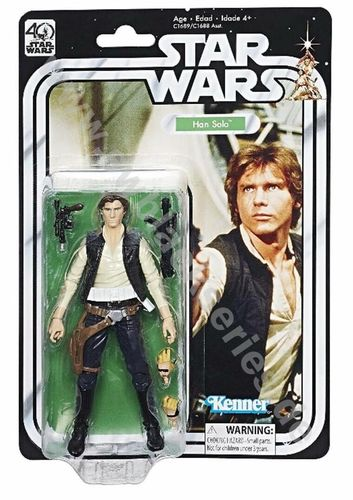 BLACK SERIES 40th ANNIVERSARY HAN SOLO 6""