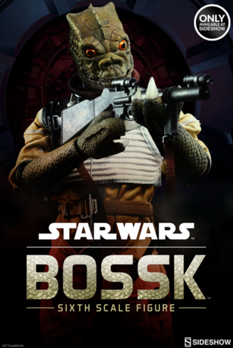 SIDESHOW STAR WARS BOSSK / SIDESHOW EXCLUSIVE / SIXTH SCALE