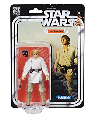 BLACK SERIES 40th ANNIVERSARY LUKE SKYWALKER 6""