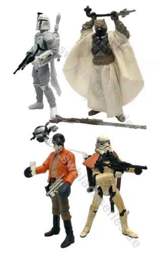 "BLACK SERIES 3,75"" 4-PACK / WALMART EXCLUSIVE"
