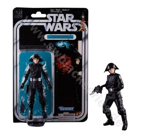 BLACK SERIES 40th ANNIVERSARY DEATH SQUAD COMMANDER 6""
