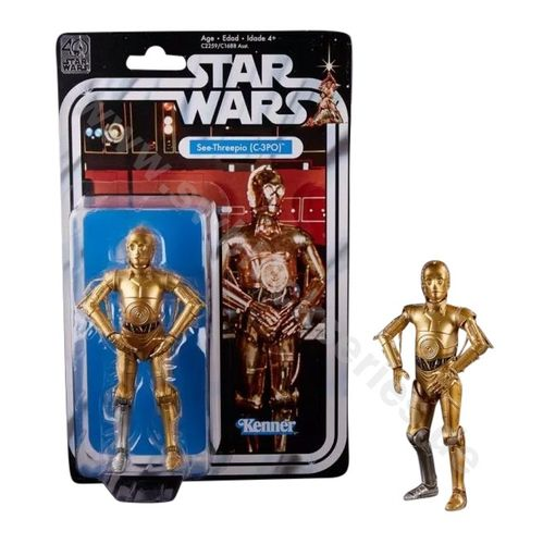 BLACK SERIES 40th ANNIVERSARY C-3PO 6""