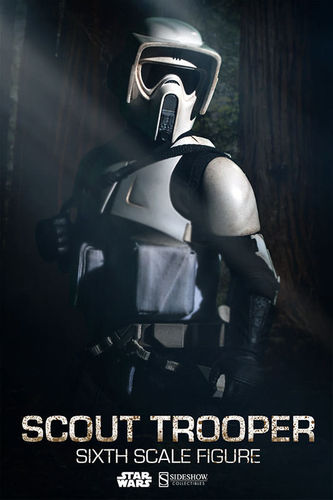 SIDESHOW STAR WARS SCOUT TROOPER / SIXTH SCALE