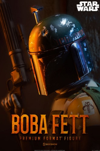 SIDESHOW BOBA FETT - RETURN OF THE JEDI / PREMIUM FORMAT 1:4
