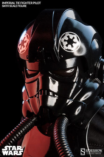 SIDESHOW IMPERIAL TIE FIGHTER PILOT / SIXTH SCALE