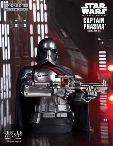 GENTLE GIANT CAPTAIN PHASMA BÜSTE / SDCC EXCLUSIVE