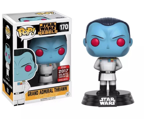 FUNKO POP! GRAND ADMIRAL THRAWN #170 / GALACTIC CONVENTION EXCLUSIVE