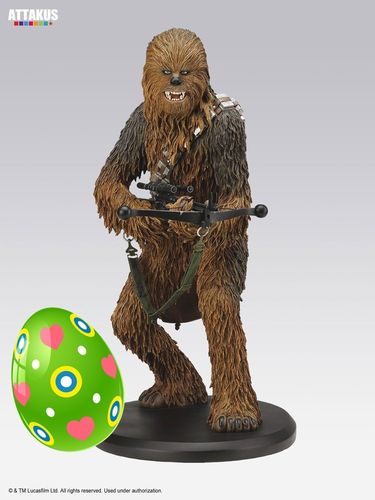 ATTAKUS STAR WARS ELITE COLLECTION CHEWBACCA / 22 CM