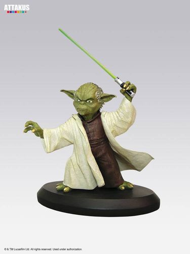 ATTAKUS STAR WARS ELITE COLLECTION YODA / 8 CM