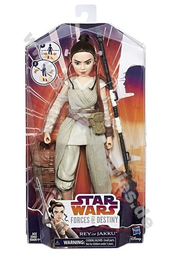 STAR WARS FORCES OF DESTINY REY 11""