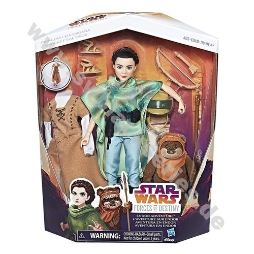 STAR WARS FORCES OF DESTINY ENDOR ADVENTURE 11""