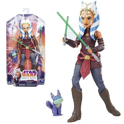 STAR WARS FORCES OF DESTINY AHSOKA TANO 11""