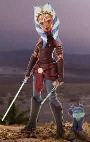 STAR WARS FORCES OF DESTINY / AHSOKA TANO 11""